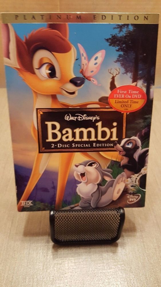 Disney Bambi (DVD, 2005, 2-Disc Set, Special Edition