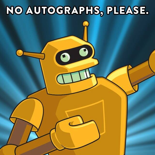 Futurama Calculon Future Arma Futurama The Simpsons Animation