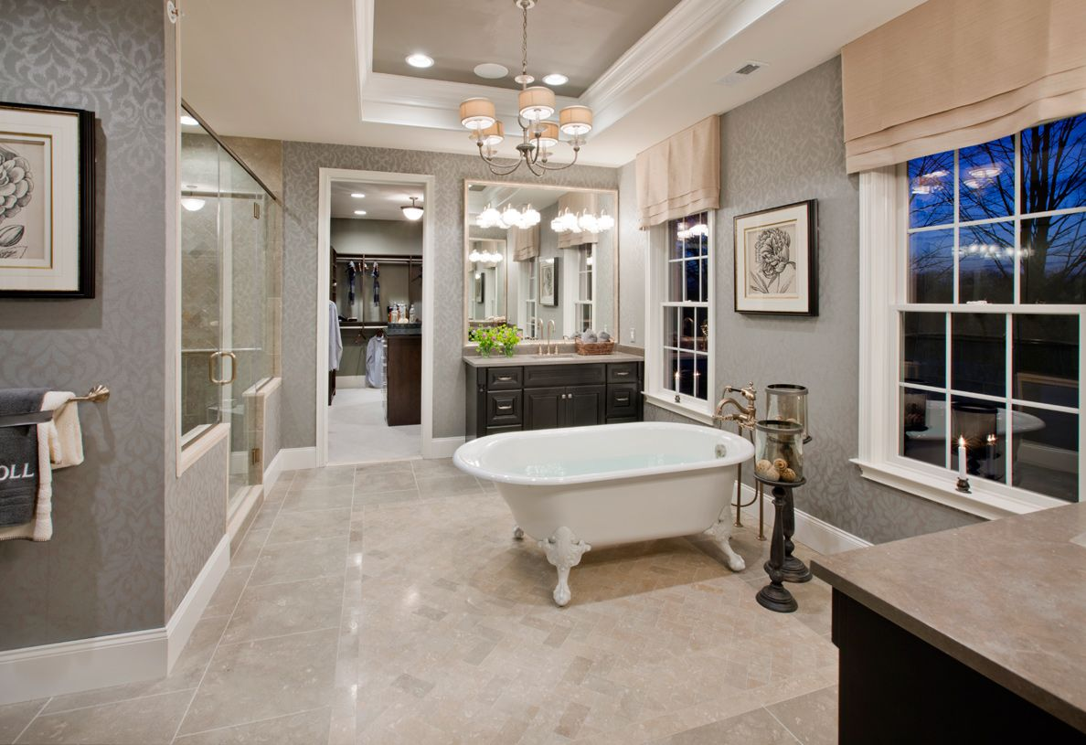 Master bedroom without bathroom  These old style tub are coming back  Home Ideas  Pinterest