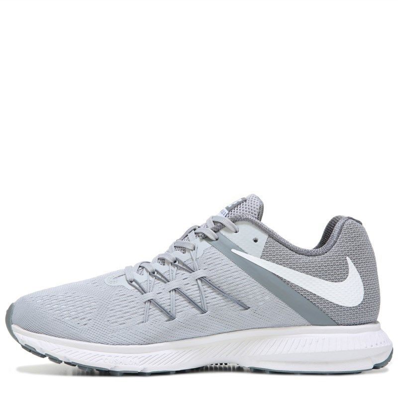 purchase cheap a87ee b9261 Nike Men s Nike Zoom Winflo 3 Running Shoes (Grey White) - 11.0 D