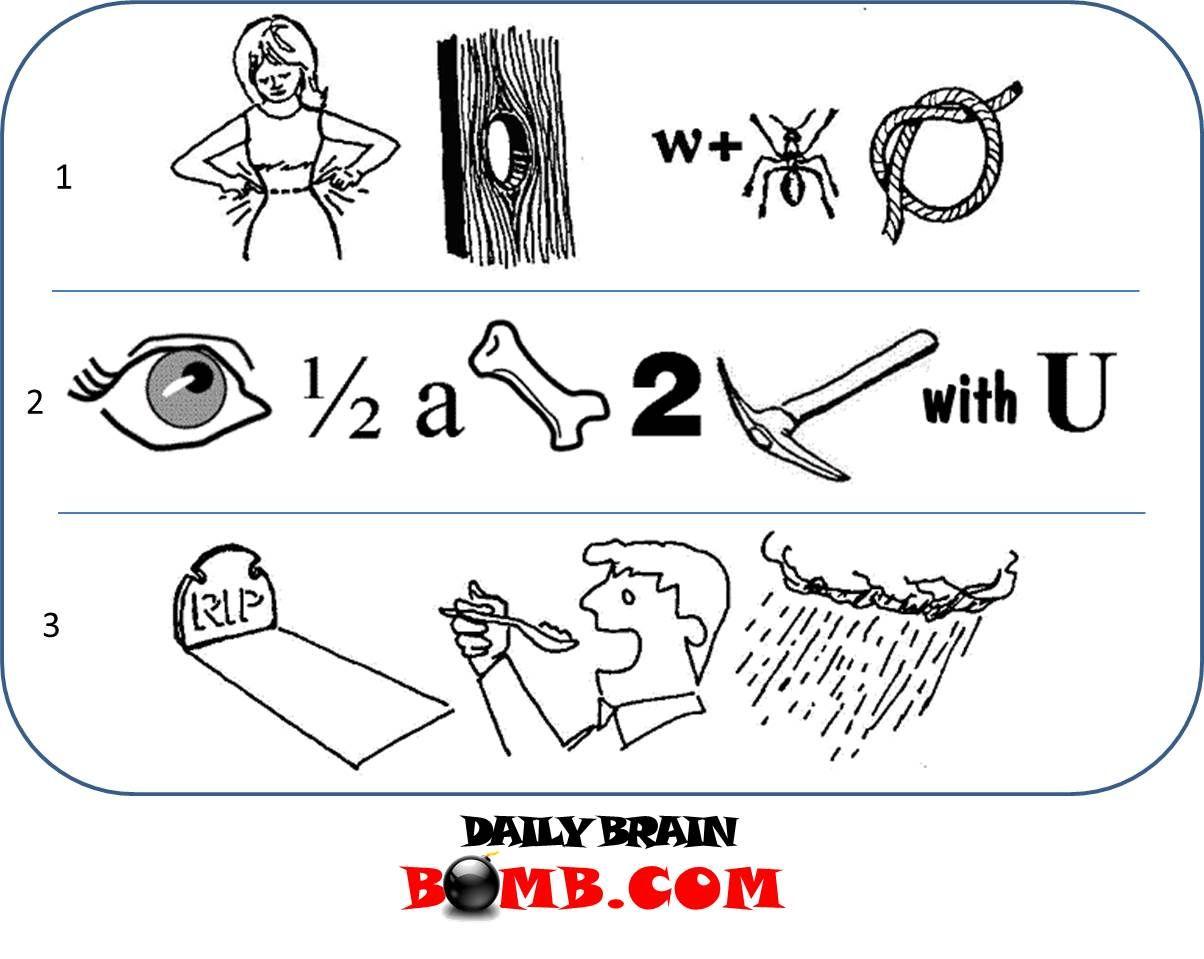 À¥ Rebus Puzzles Fun Facts For Kids Brain Puzzles