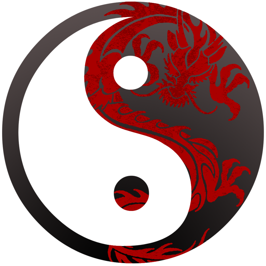 yin yang dragon symbol i like yin yang pinterest chinese rh pinterest com What Color Is for Yin Yang and Yin China Brown and White Yin Yang