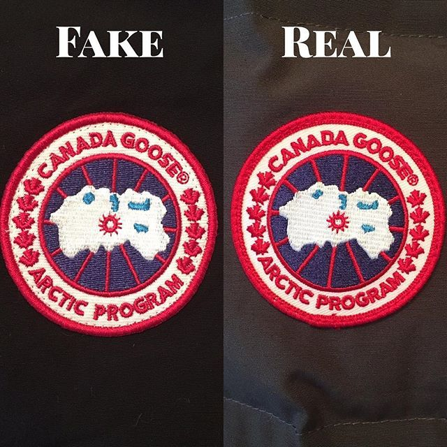 canada goose fake uk