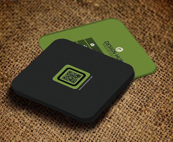 Mini Square Business Card Psd Templates Design Graphic Design Junction Business Card Design Creative Graphic Design Business Card Free Business Card Templates