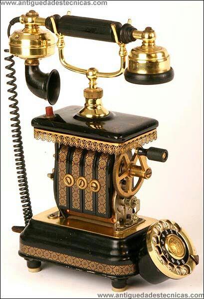 In vintage phones