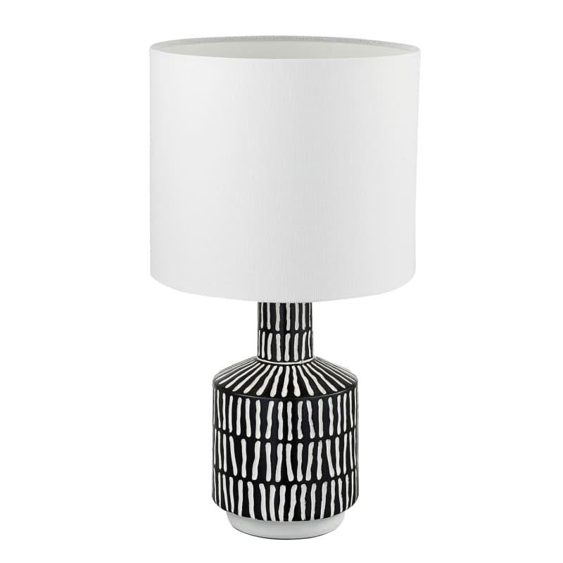 Globe Electric 67620 Aria Single Light 18 Tall Build Com Fabric Shades Table Lamp Globe Electric