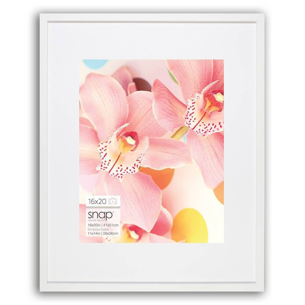 16 X 20 Frame White Snap Picture Frame Wall Frames On Wall 11x14 Picture Frame
