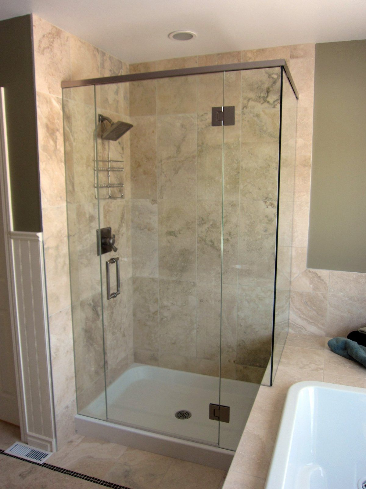 Frameless Shower Enclosures Doors Bathroom Remodel Cost Home Depot Bath