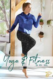 Yoga & Fitness können alle - egal, ob du Größe XS oder XXL hast. #fitinsneueJ...  Yoga & Fitness kön...