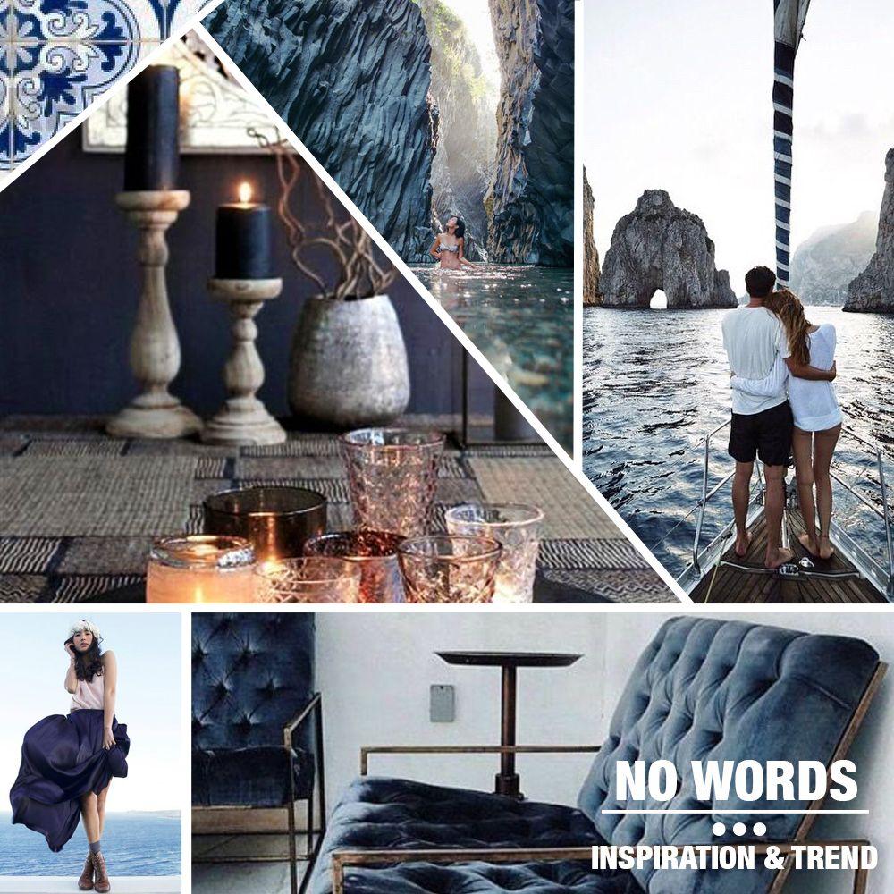 inspiration trend velvet blue coach candle capri alcantara fashion decor