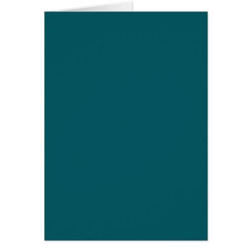 Blank Card With Dark Teal Background Zazzle Com In 2021 Teal Paint Colors Teal Background Teal Color Palette