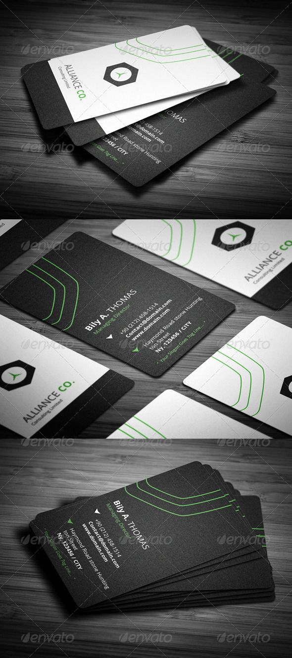 new rounded corner business card graphicriver details • fully
