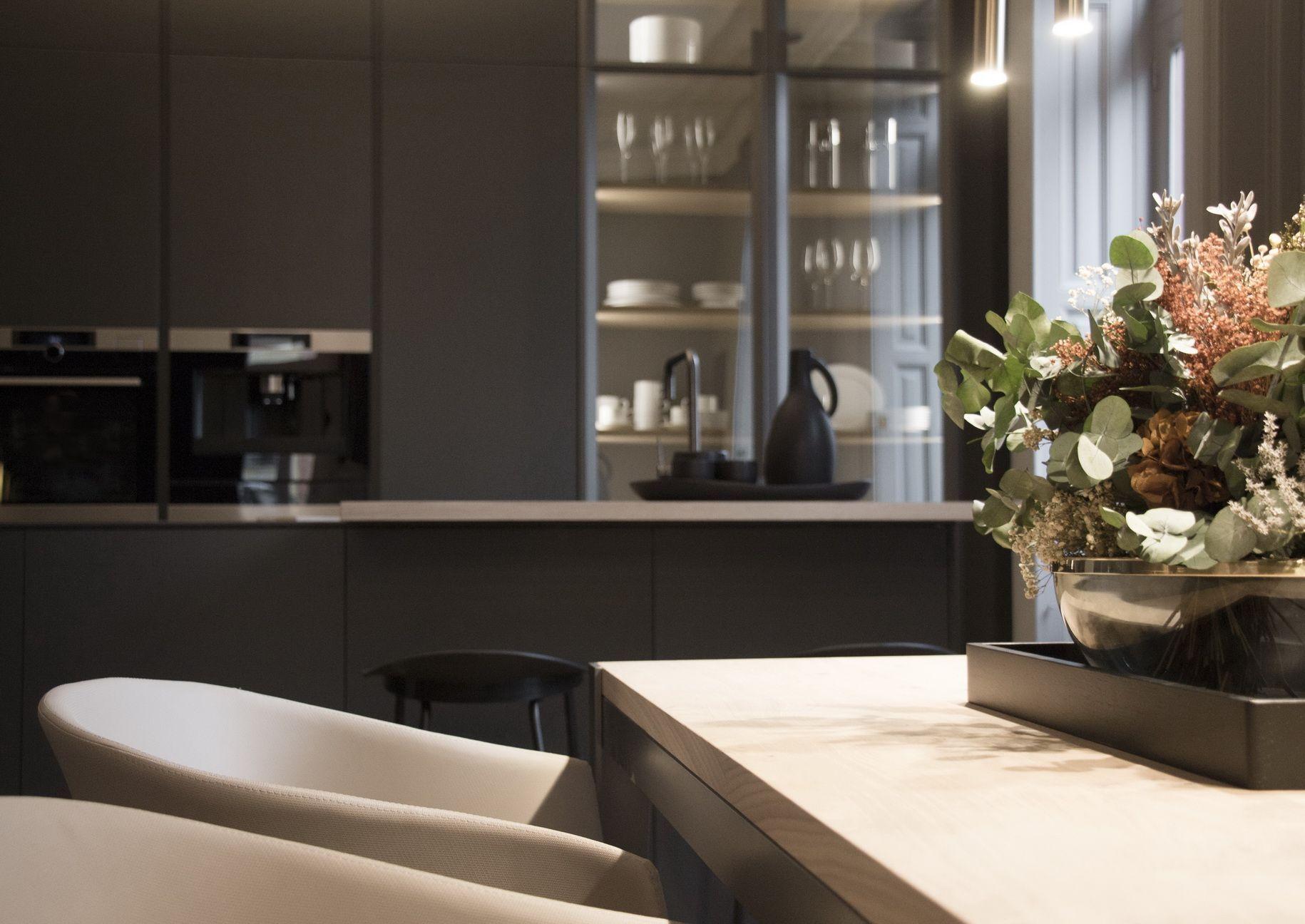 Cocina dica en Casadecor 2018 Dica Kitchen Cocina moderna con diseño ...