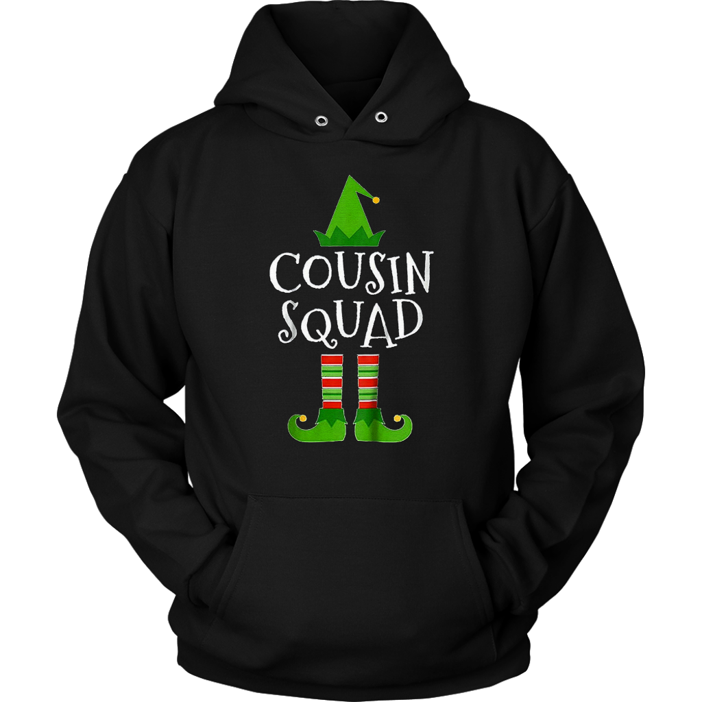 c436fd14567d7 Pro Cousin Squad Elf Matching Family Group Christmas T Shirt ...