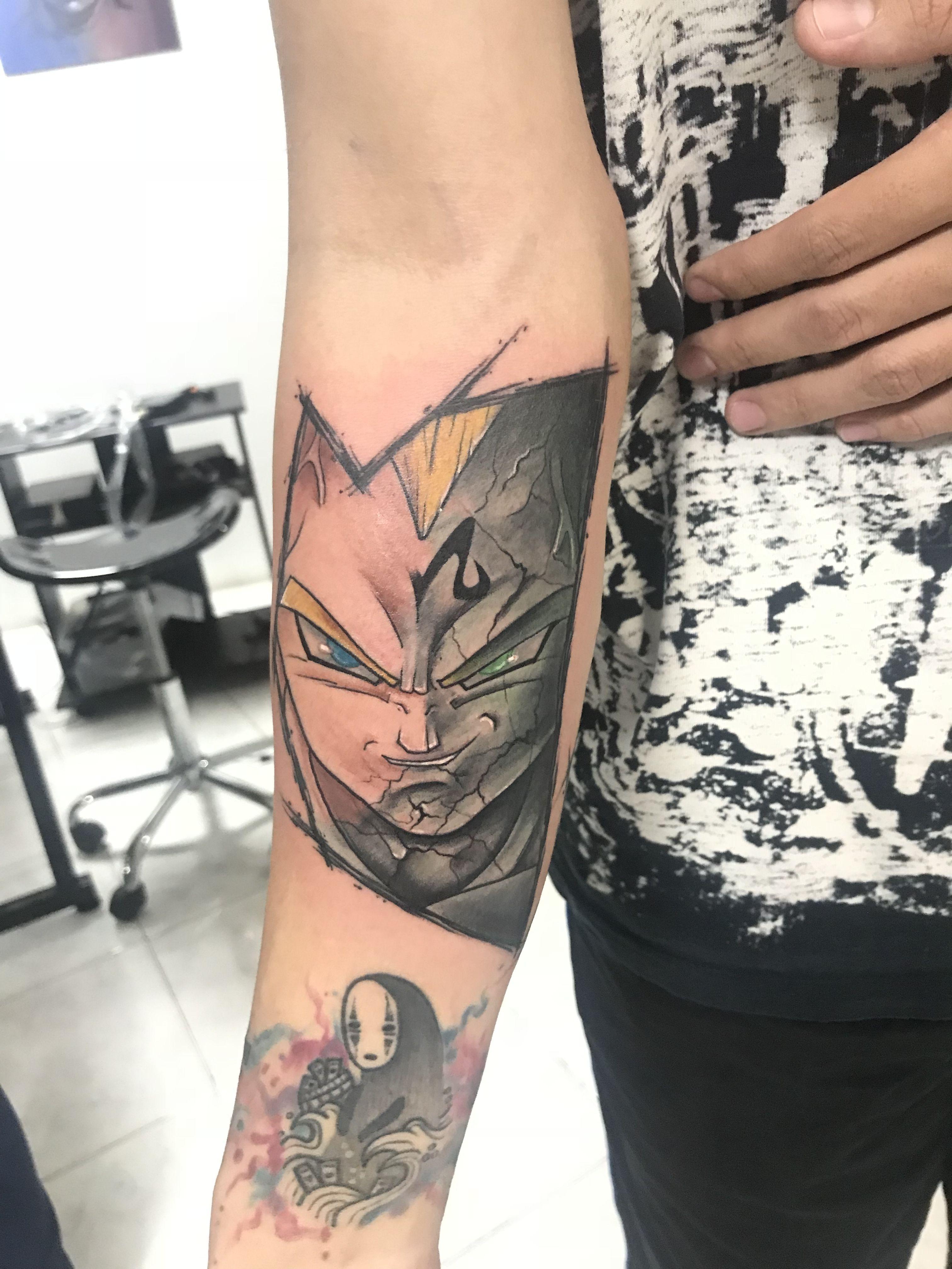 Vegeta Dbz Dbz Tattoo Dragon Ball Tattoo Tattoos