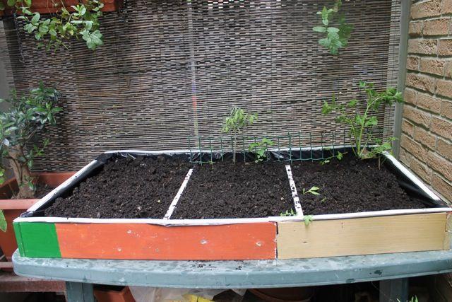 Orti sul balcone: come costruire un tavolo orto fai-da-te | Gardens