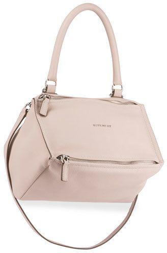 Givenchy Pandora Sugar Small Leather Shoulder Bag, Nude Pink ... 9d49adeb62