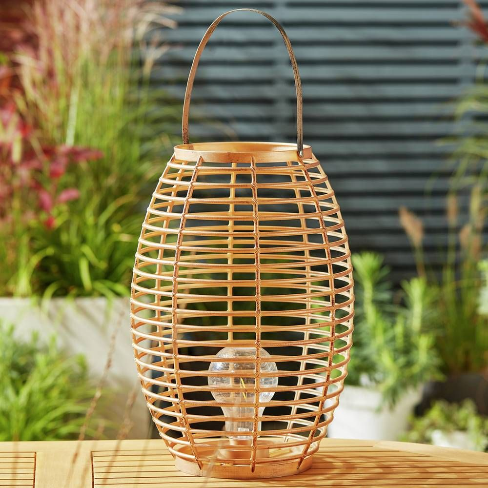 Buy Sahara Wicker Effect Large Lantern Novelty lights