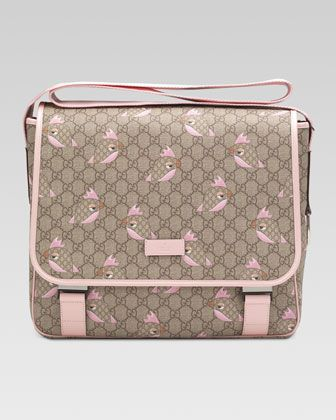 Today s Object of Desire  Gucci Diaper Bag  84c04a7f114