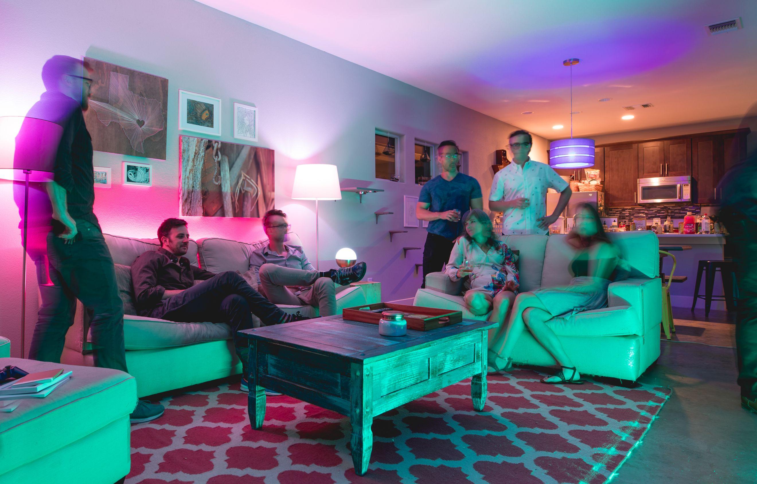 LED lighting ideas living room decor: Lumenty LED Smart ...