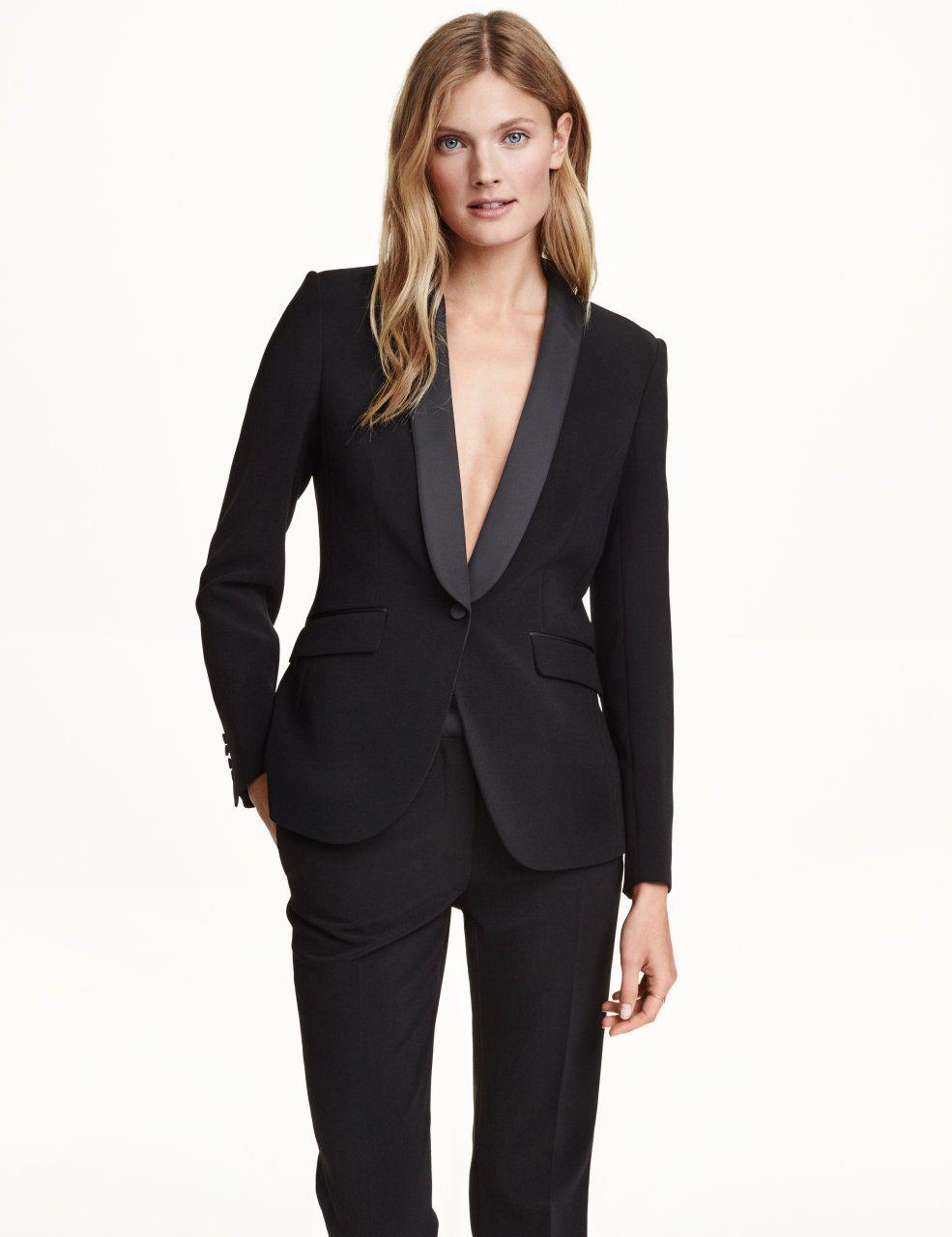 Access Denied Tuxedo Women Pant Suits For Women Black Pant Suit [ 1280 x 985 Pixel ]