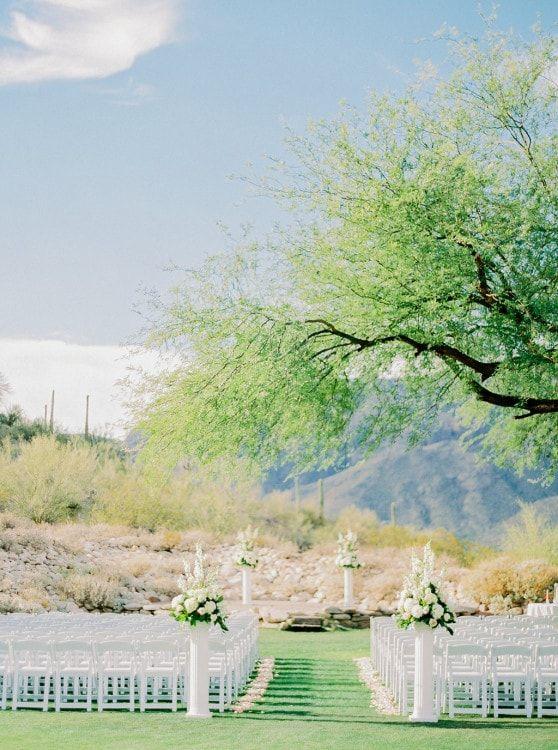 Westin La Paloma Wedding Ceremony By Crain And Co Events Tucson Arizona Planner
