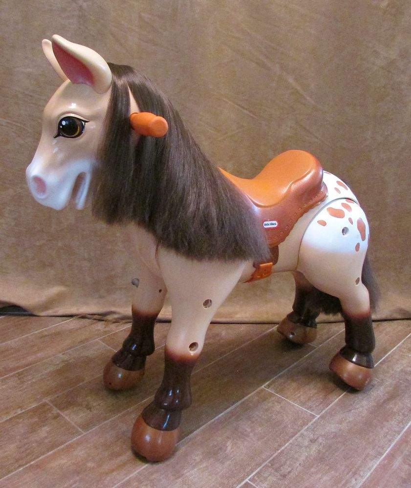 Little Tikes Horse Giddy Up and Go Ride on Thunder the Pony retired ...