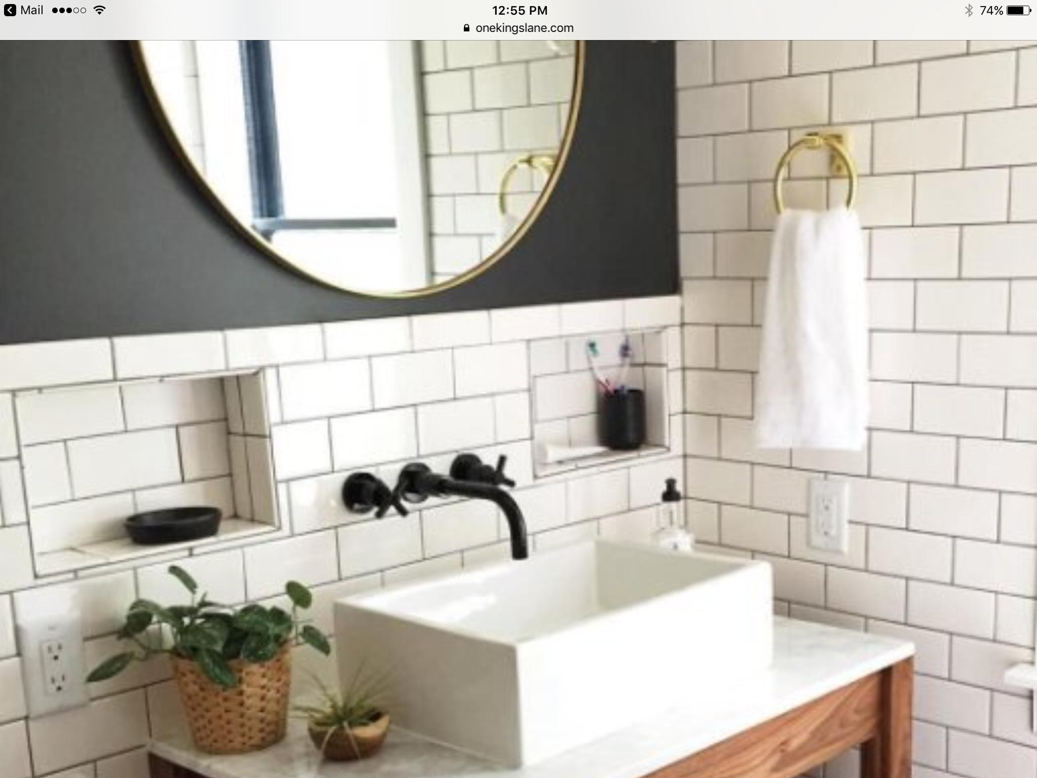 Pin by Diana Katavolos on Bath Styling | Pinterest | Tile design ...