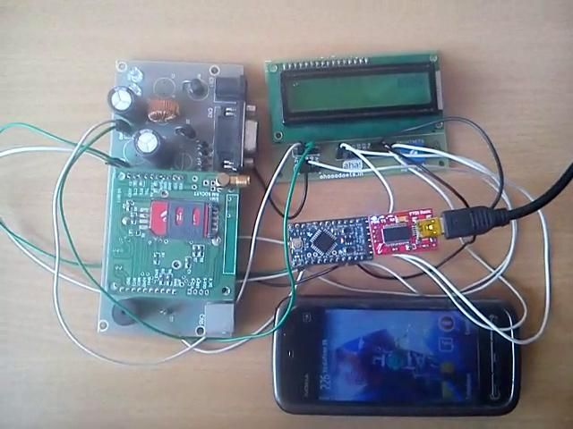 Arduino Based Wireless Notice Board - Send Notice Using Your Cell ...