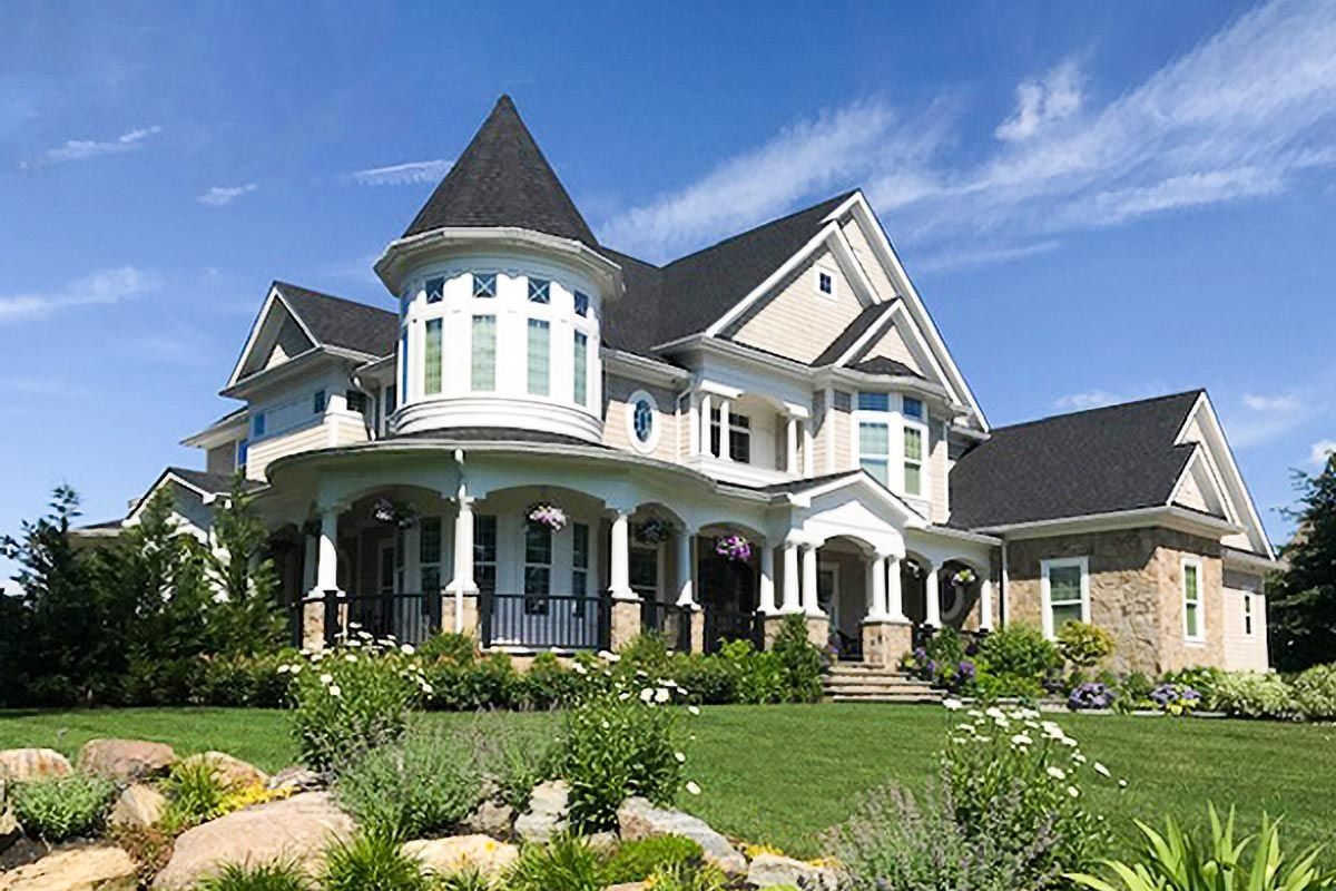Plan 23500jd Magnificent Shingle Style Dream Home Shingle Style Shingle Style Homes House Floor Plans