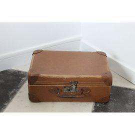ancienne valise marron vintage brocante vintage pinterest valises marrons et ancien. Black Bedroom Furniture Sets. Home Design Ideas
