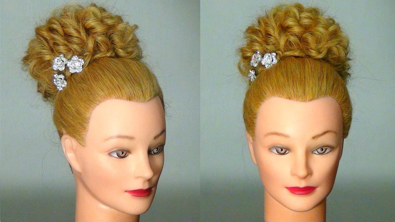 Легкая прическа на длинные волосы easy hairstyle for long hair