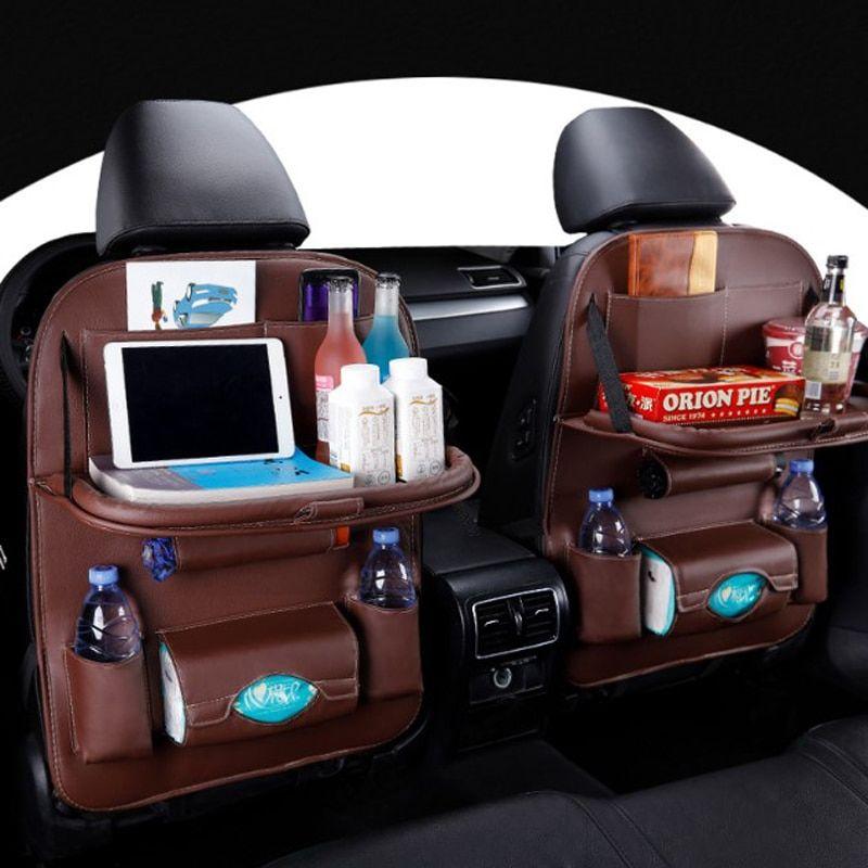 Car Back Seat Organizer With Tray Car Seat Organizer Car Seats