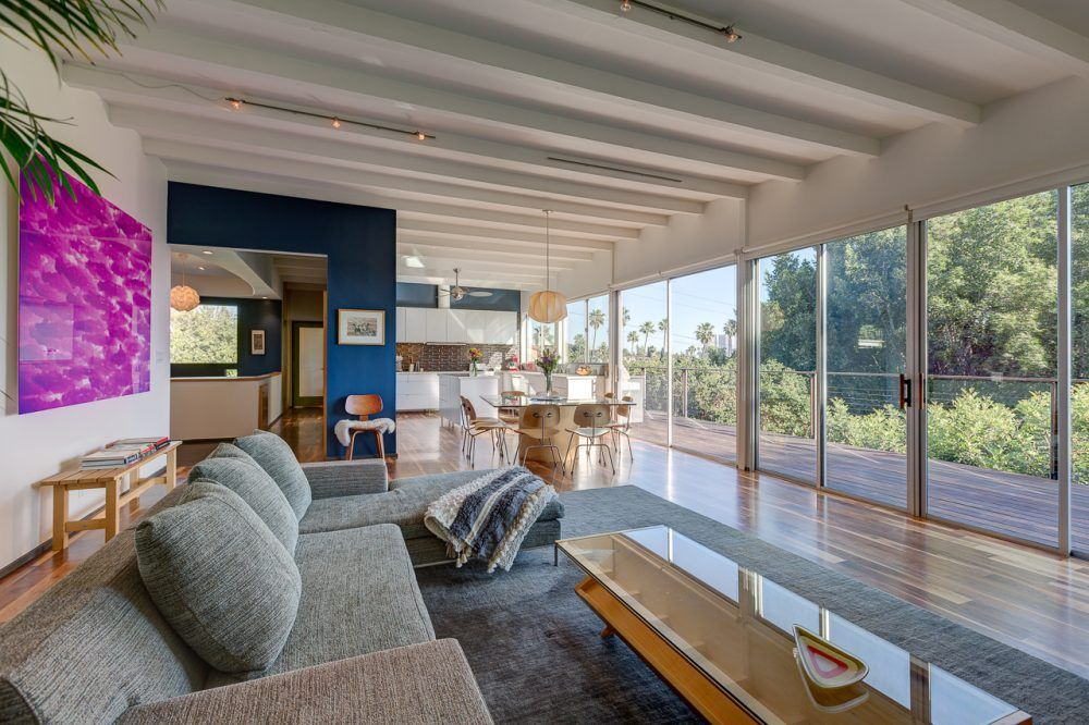 Stunning Mid Century Modern With Incredible Views In Prime Silver Lake The Eastsider La