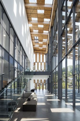 Besan on france besan on art center and cit de la musique kengo kuma - Besancon cite des arts ...