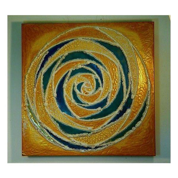 Gail McCarthy Mandala I Ceramic Wall Art ($950) ❤ liked on Polyvore ...