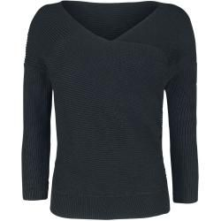 Photo of Forplay Knitted Front Sweatshirt Forplay