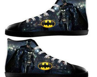 e15f20c7a186a Custom Painted Shoes /Superman VS Batman Men's Canvas by ADIDOWO ...
