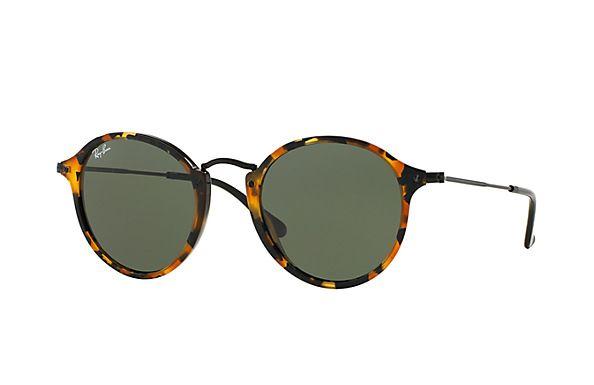 bd594658ad1727 Ray-Ban RB2447 1160 49-21 Round Fleck Sunglasses   Ray-Ban France ...