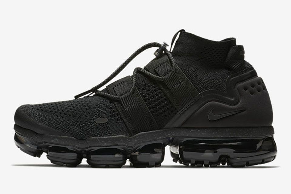 """441b7905d914 Here s How to Buy the Nike Air VaporMax Flyknit Utility """"Triple Black"""" on  January 4"""