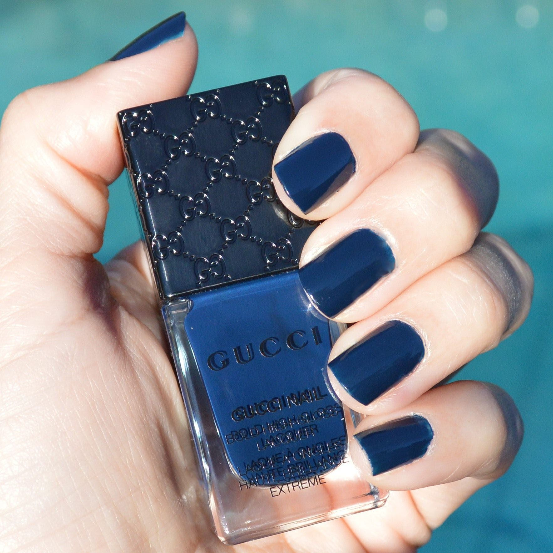 Gucci Abyss Nail Polish For Spring 2015