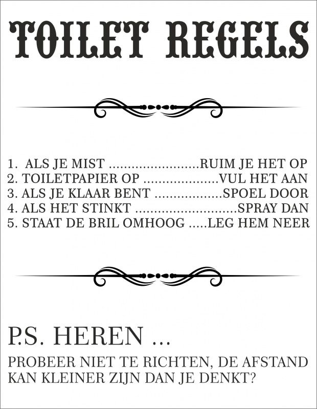 Pin By Linda Van Rooy On Toilet Rules Pinterest Toilet