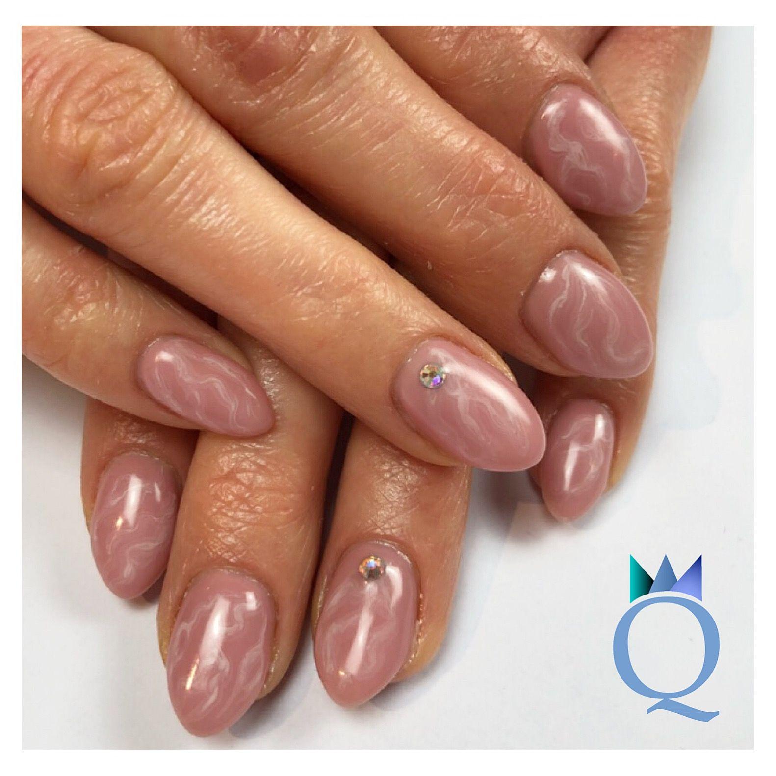 almondnails #gelnails #nails #marblenails #marble #yvesswiss ...