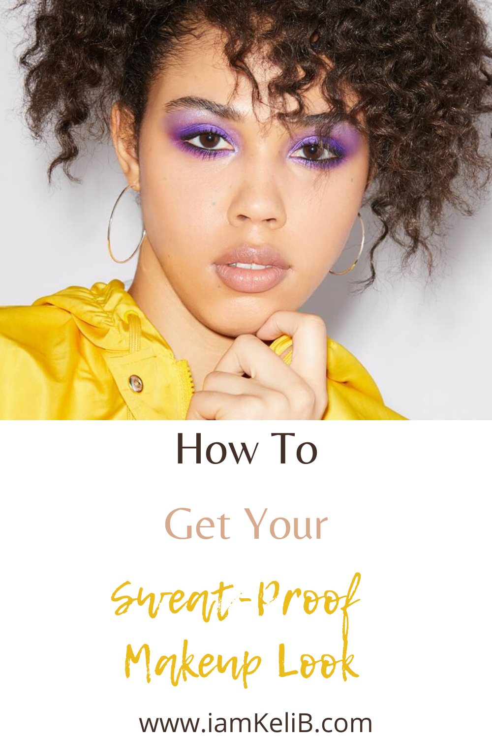 Sweat Proof Makeup Look in 2020 Sweat proof makeup