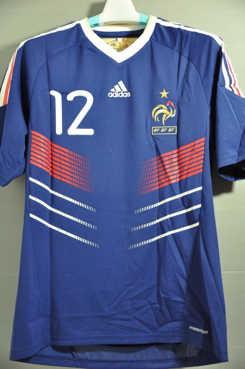 France Henry 12 National Football Team Formotion Player Issue Jersey Shirt  World Cup 2010 dc62ba605