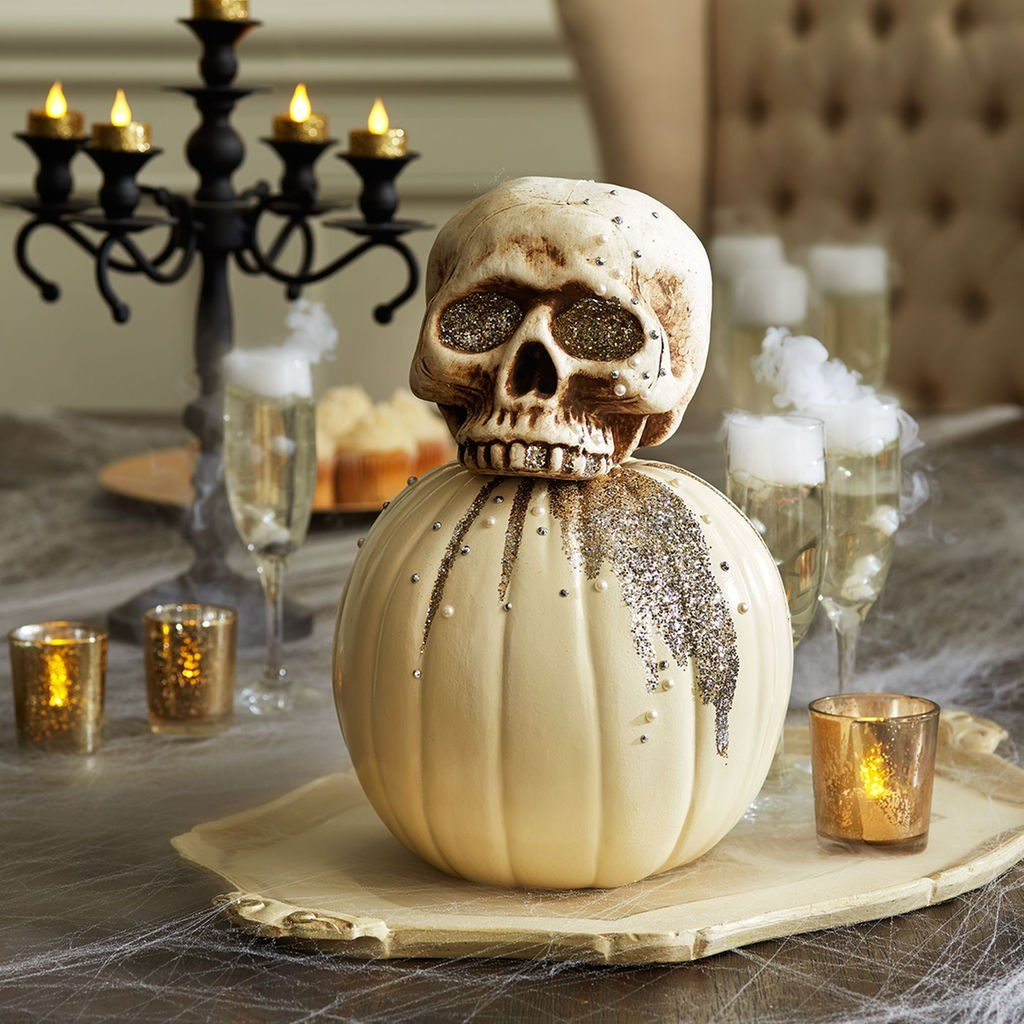 Be Ready For Halloween When You Make This Spooky Skeleton Pumpkin For Your  Decor