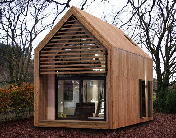A Micro Home A Garden Office Studio Holiday Home Student Accommodation Play Room Guest House Granny Ann Modern Tiny House Architecture House Prefab Homes