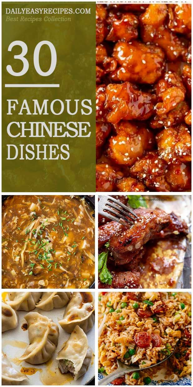 30 Famous Chinese Dishes For Dinner Recipes Healthy Recipes