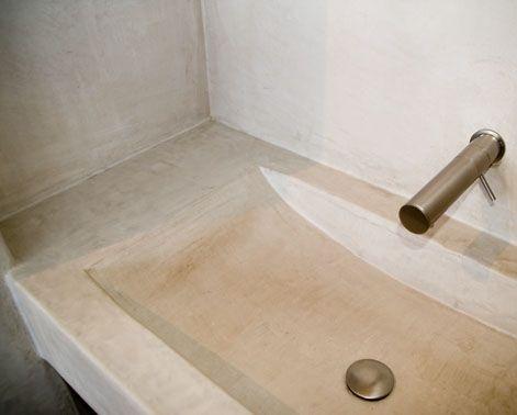Inspiratie voor tadelakt, betoncire, mortex, beal voor in de ...