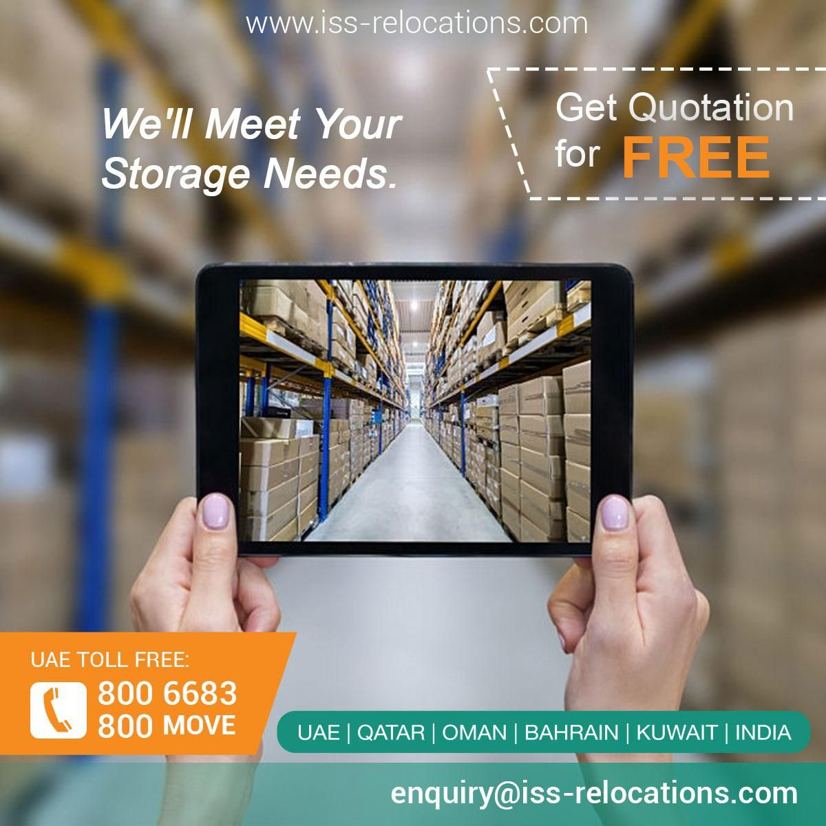 issrelocations is a leading moving company in Dubai which